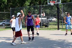 community basketball
